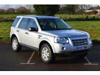 LAND ROVER FREELANDER 4X4 2.2 Td4 XS 5dr ONE OWNER VERY LOW MILEAGE