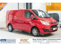 2015 15 FORD TRANSIT CUSTOM 2.2 270 LIMITED LR P/V PANEL VAN