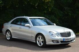 2008 MERCEDES BENZ E CLASS E280 CDI Avantgarde 4dr Tip Auto LOW MILEAGE