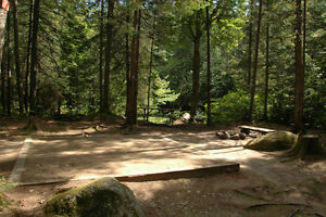 Camping et chalet, riviere Archambault