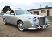 VERY RARE FRESH IMPORT MITSUOKA GALUE II 3.0 V6 AUTOMATIC SILVER BENTLEY GLORIA