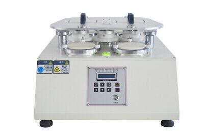 Martindale Abrasion Testing Machine Woolen Fabric Pilling Tester 110v