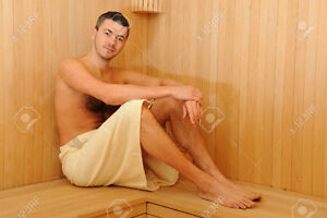 Full body scrub w/steam+Massage+Vichy Shower Only 185$ -for men Cambridge Kitchener Area image 3