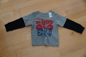 "Children's Place ""Dad's Crew"" Shirt - Brand New with Tags"