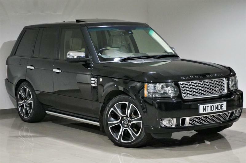 Range Rover Autobiography Black Interior >> 2010 Black Land Rover Range Rover Vogue 3.6TD V8 2012 Autobiography Styling -FSH | in Blackburn ...
