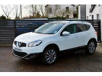 2011 NISSAN QASHQAI 1.5 DCI TEKNA TOP SPEC FNSH BOSE PAN ROOF HEATED LEATHER