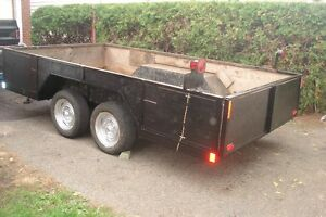 """by phone only ,trailer 80 """"wide x 146 """" long .very strong  hd"""