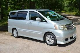 2002 TOYOTA ALPHARD 8 SEAT AUTOMATIC G 3.0 V6 ONLY 38,000 MILES