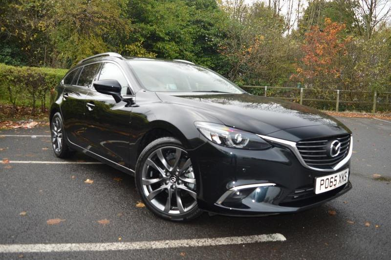 Mazda 6 2 2d 175 Sport Nav 5 Door Auto Black 2015 In