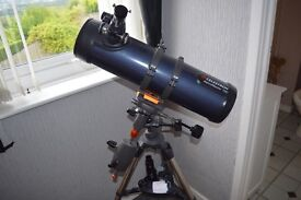 Celestron 31051 Astromaster 130EQ with nikon camera aptapter, T ring and Accessory Kit