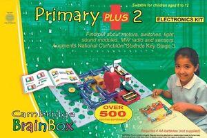 Cambridge Brainbox Primary Plus 2 Electronics Kit For Children **NEW**