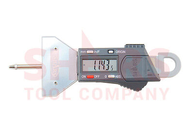 Aventor 0-16 Electronic Digital Depth Gage .0005 In-mm-fraction Tire Tread