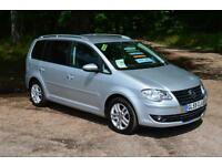 VW TOURAN 1.9 TDI SE 7 SEATS ONLY 40,000 MILES LOW MILEAGE DIESEL FVWSH