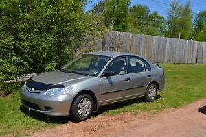2005 Honda Civic Sedan, New MVI, Runs Great!