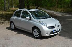 2007 NISSAN MICRA 1.6 Active Luxury 5dr ONLY 53,000 MILES