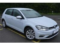 2017 Volkswagen Golf SE Nav 1.0 TSI 110PS 6-speed Manual 5 Door Petrol white Man