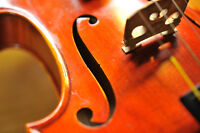 Classical Violin and East Coast Fiddle Lessons