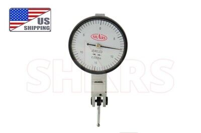"""SHARS PRECISION 1.5"""" Dial Test Indicator Set 0-15-0 .030"""" .0005"""" NEW"""