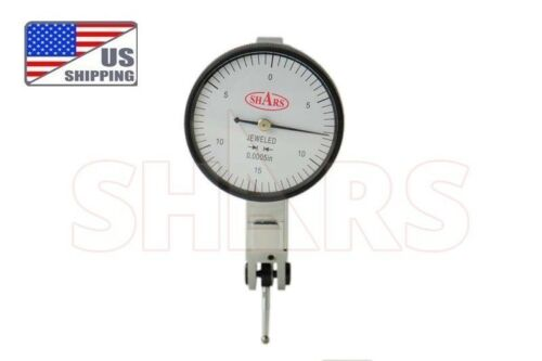 """SHARS PRECISION 1.5"""" Dial Test Indicator Set 0-15-0 .030"""" .0005"""" NEW !]"""