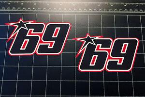 Nicky Hayden 69 MotoGP World Superbike 2016 / 17 decals stickers motorcycle WSBK