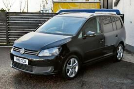 2011 VW TOURAN 2.0 TDI SE FSH 2 KEYS PANORAMIC ROOF PDC LOW RATE FINANCE 7 SEAT