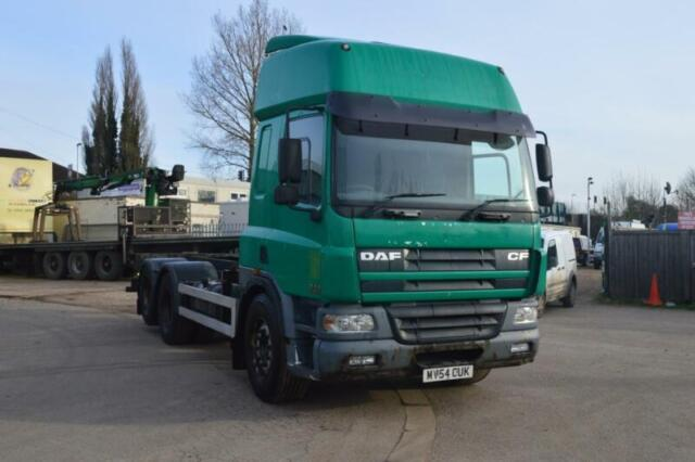DAF TRUCKS FAS CF75 310 10 TYRE CONTAINER CARRIER, MANUAL GEARBOX | in  March, Cambridgeshire | Gumtree