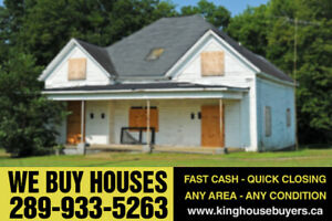 We Pay Cash For Your House - Quick Closing
