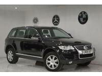 2009 Volkswagen Touareg 2.5TDI DPF auto+FSH+LONG MOT+2 KEYS+SATNAV+BARGAIN+PX SE