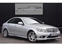 Mercedes C Class C200 CDI Diesel Auto Sport *Nav + Full Leather + Cruise etc*