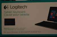 Logitech Tablet Keyboard for Windows and Android