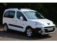 2011 PEUGEOT PARTNER TEPEE 1.6 HDi 112 Outdoor 5dr VERY LOW MILEAGE