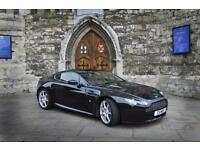 Aston Martin Vantage 4.3 V8 Coupe Black Manual Full Service History