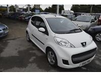 2011 Peugeot 107 1.0 Special Edition Envy WHITE LONG MOT SPARE KEY CHEAP TO RUN