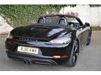 2016 Porsche 718 Boxster S Pdk Petrol black Semi Auto
