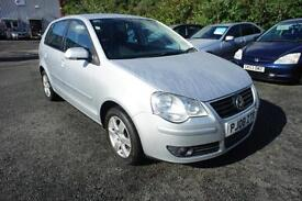 2008 VOLKSWAGEN POLO MATCH RARE AUTO WITH GOOD HISTORY HATCHBACK PETROL
