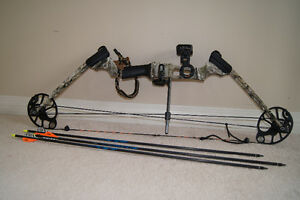 Bow and 3 Arrows for sale