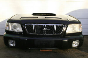 JDM SUBARU FORESTER (SF5) FRONT END NOSECUT (Black) (2000-2002)
