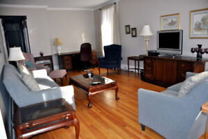 Fully Furnished 3 Bdrm in Uptown Saint John Avail Sept 1
