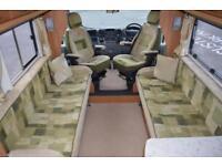 2007 AUTOCRUISE STARBURST ZUCKOFF 335 LWB 2.2 DIESEL 6 SPEED MANUAL 120 BHP 2 BE