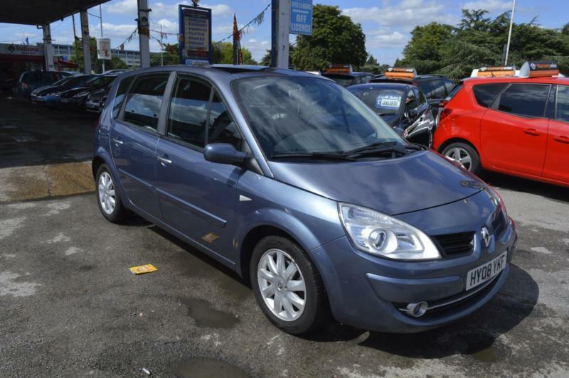 renault scenic 1 6 vvt 111bhp auto 2008 dynamique automatic in barking london gumtree. Black Bedroom Furniture Sets. Home Design Ideas