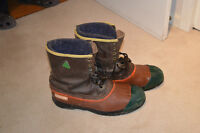Steel Toed Winter Work Boots size 12