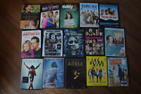 Many DVD's for sale!