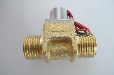 "New DC3.6V 1/2""Water Flow Pulse Electromagnetic Valve Brass Solenoid Valve"