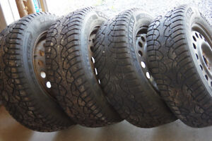 Studded Winter Tires P225/60R16