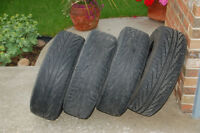 Michelin Hydroedge All Season Tires  14 inch