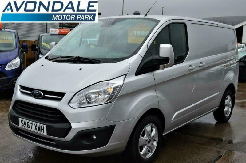 99a65ef734 2017 FORD TRANSIT CUSTOM 290 LIMITED AUTOMATIC 170 BHP VAN WITH REVERSE  CAMERA P