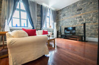 OLD MONTREAL TRADITIONAL LOFT