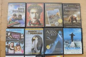 DVDs (17 alternative and documentaries)