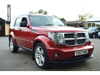 LATE 2007 57 DODGE NITRO 2.8 CRD 4WD 6 SPEED TURBO DIESEL MANUAL PX SWAP