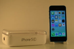 16gb blue iPhone 5c with ghost armour on Rogers